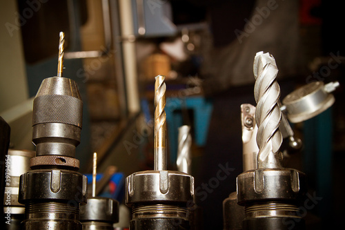 Drilling machine bits