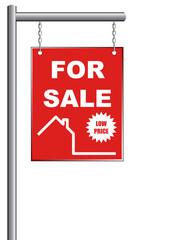 House Sale Sign
