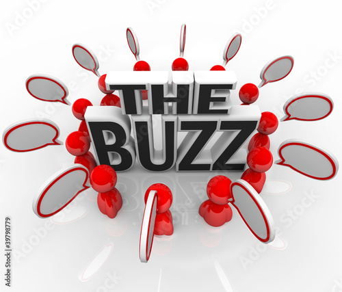 The Buzz People Talking in Speech Bubbles Latest News