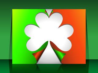 St Patrick Fold Cards