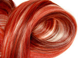 red highlight hair texture background