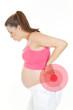schwangere frau mit rückenschmerzen 1
