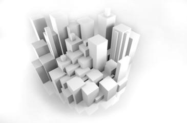 Architektur - Modell - Wohnraum