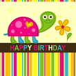Template greeting card, vector