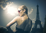 Fototapety French beauty