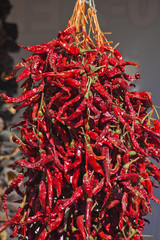 dry hot red pepper