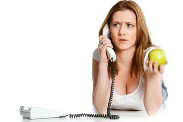 streitgespräch am telefon