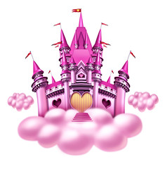 Fantasy Cloud Castle