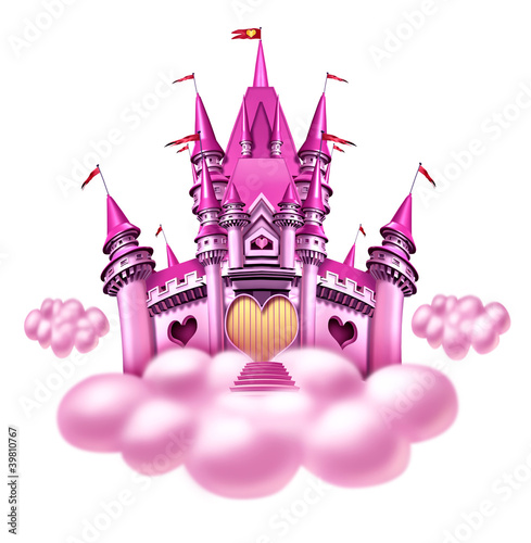 Fantasy Cloud Castle