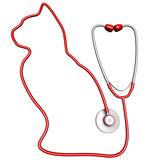 Cat-shaped stethoscope
