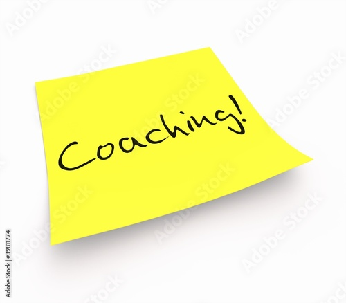 Notizzettel - Coaching!