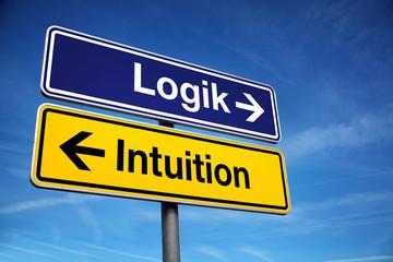Logik oder Intuition