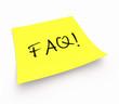 Notizzettel - FAQ!