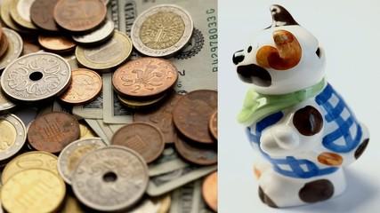 Money and Money Box