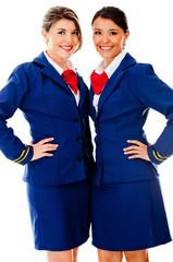 Beautiful air hostesses