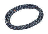 Length of climbers rope coiled
