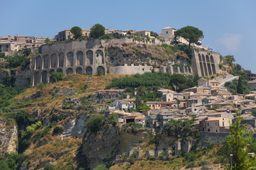 Gerace, a medieval town in the province of Reggio Calabria