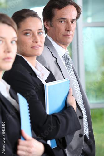 Three professionals