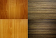 Set of Vintage wood wall texture.