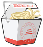 Chinese Food Take-Out Box
