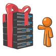 Orange Man Web Hosting Savings