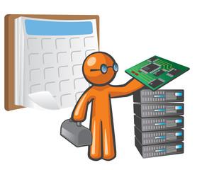 Orange Man Scheduled Maintenance