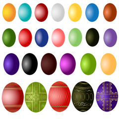 easter egg color sample