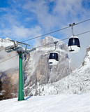 Fototapete Luft - Alphütte - Andere