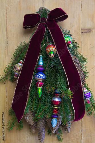 Türkranz für die Adventszeit