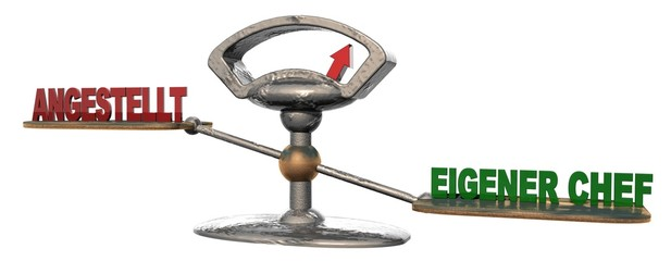 3D Waage - ANGESTELLT - EIGENER CHEF