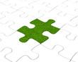 Das grüne Puzzleteil