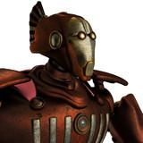 centurion robot portrait side view