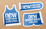 New underwear collection for men stickers
