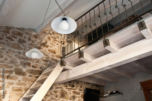 canvas print picture mezzanine