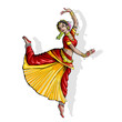 Indian Classical Dancer
