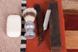 Man`s shave accessories