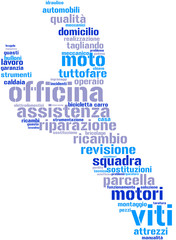 chiave inglese - tag cloud - italiano