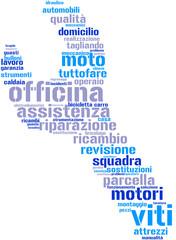 chiave inglese - tag cloud - italiano