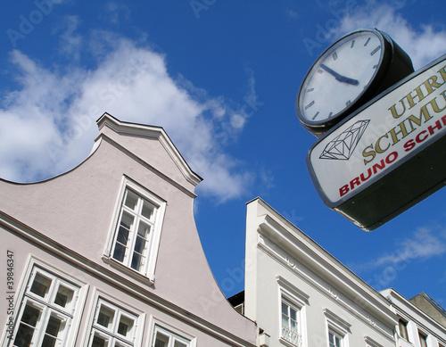 Schildgiebel in Lübeck