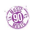 timbre musique années 90