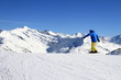 Fototapete Snowboard - Berg - Hochgebirge