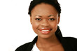 Cute smiling girl of african descent