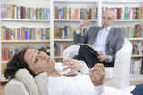 Psychotherapy: Psychologist and patient