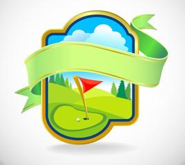 Premium Golf  Club Label