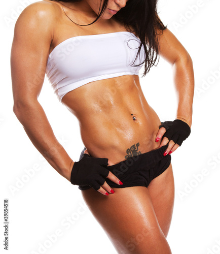 Image of athletic woman
