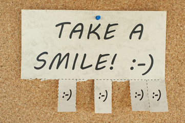 Take a smile