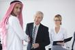 Arabic business man at meeting