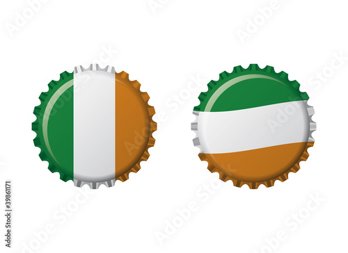 Irlanda bottle caps