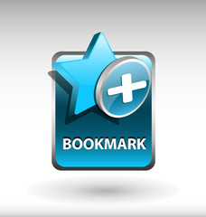 add to bookmark button, favorite icon and button