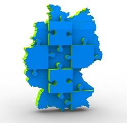 deutschland karte 3d